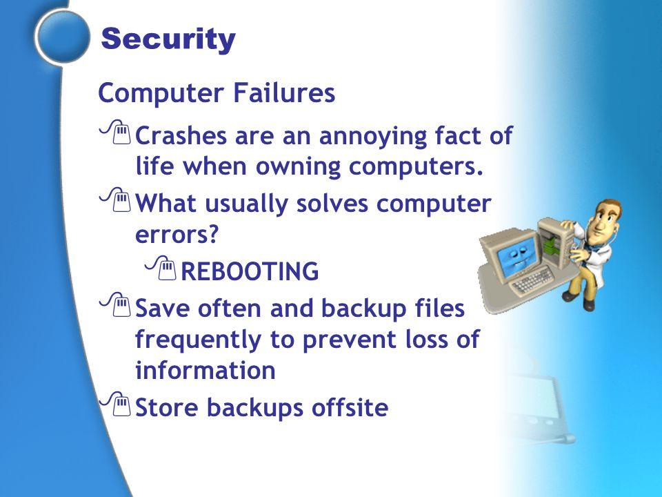 Security Computer Failures