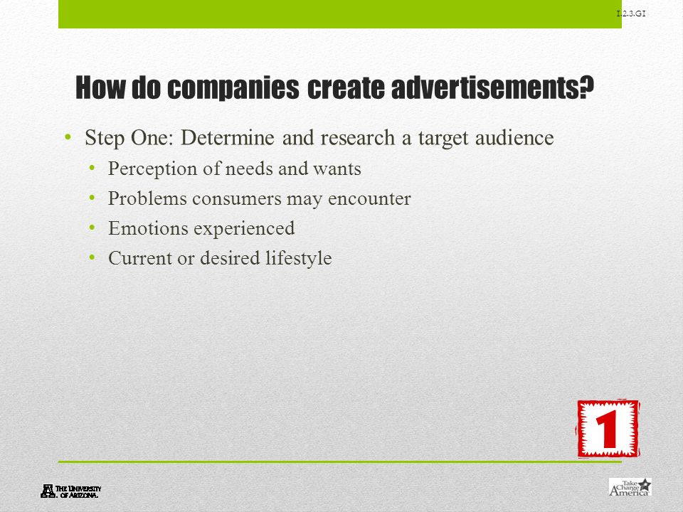 How do companies create advertisements