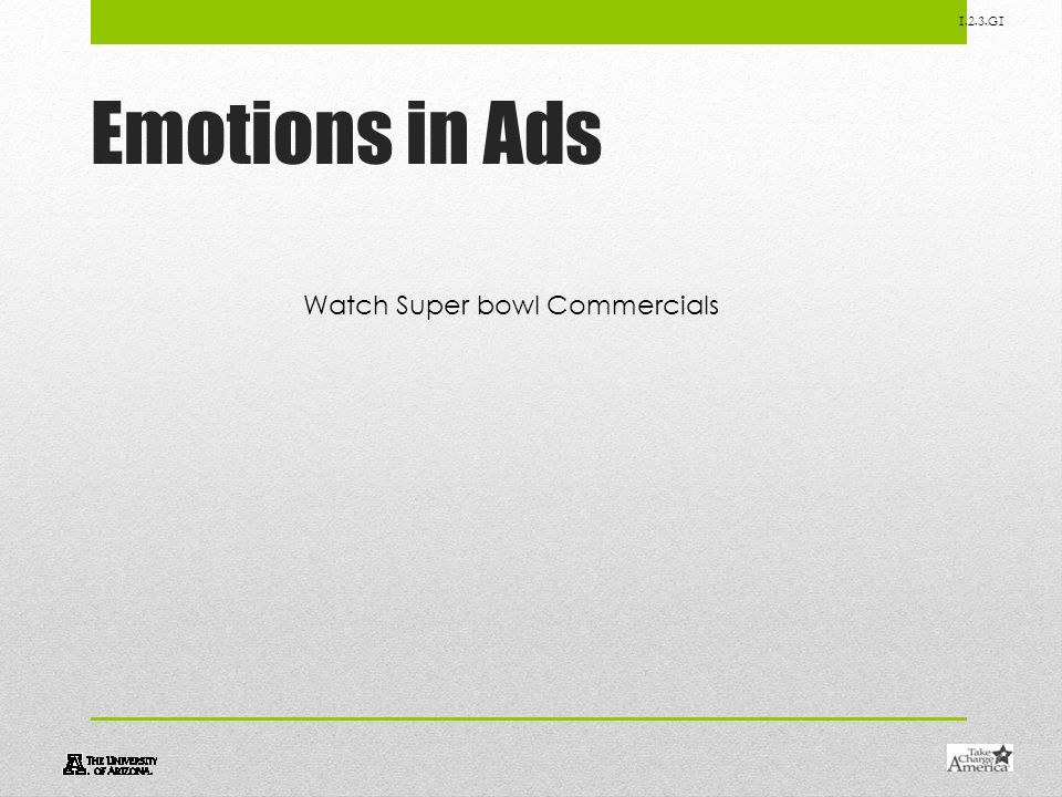 Emotions in Ads Watch Super bowl Commercials
