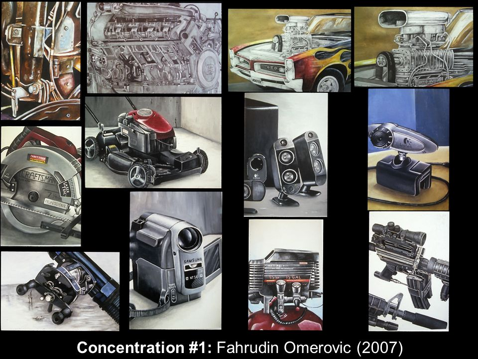 Concentration #1: Fahrudin Omerovic (2007)