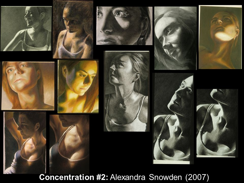 Concentration #2: Alexandra Snowden (2007)