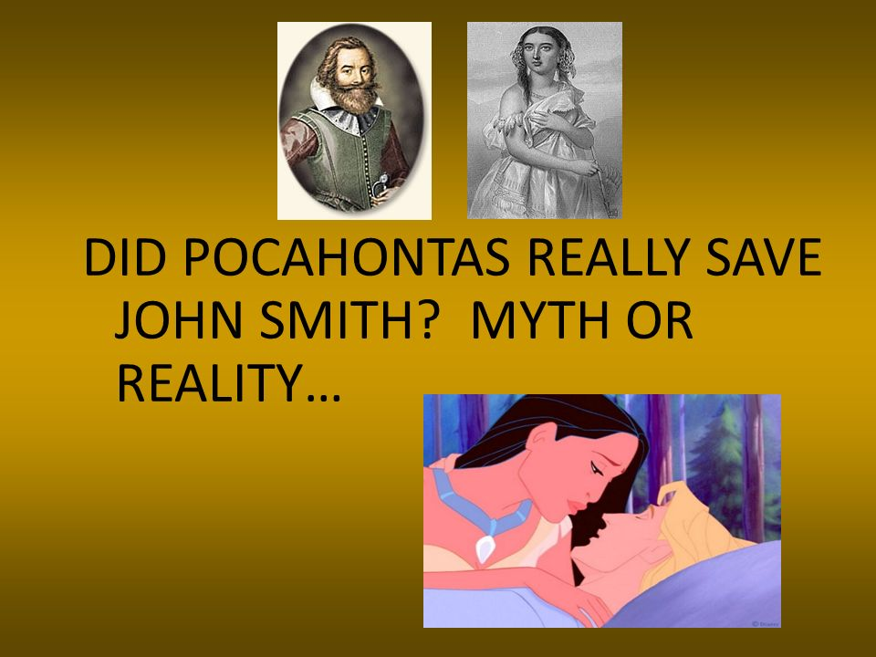 DID POCAHONTAS REALLY SAVE JOHN SMITH MYTH OR REALITY…