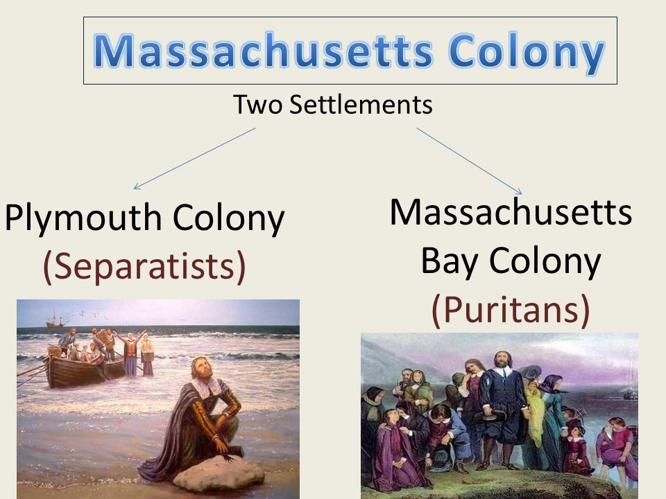 Massachusetts Colony Massachusetts Bay Colony