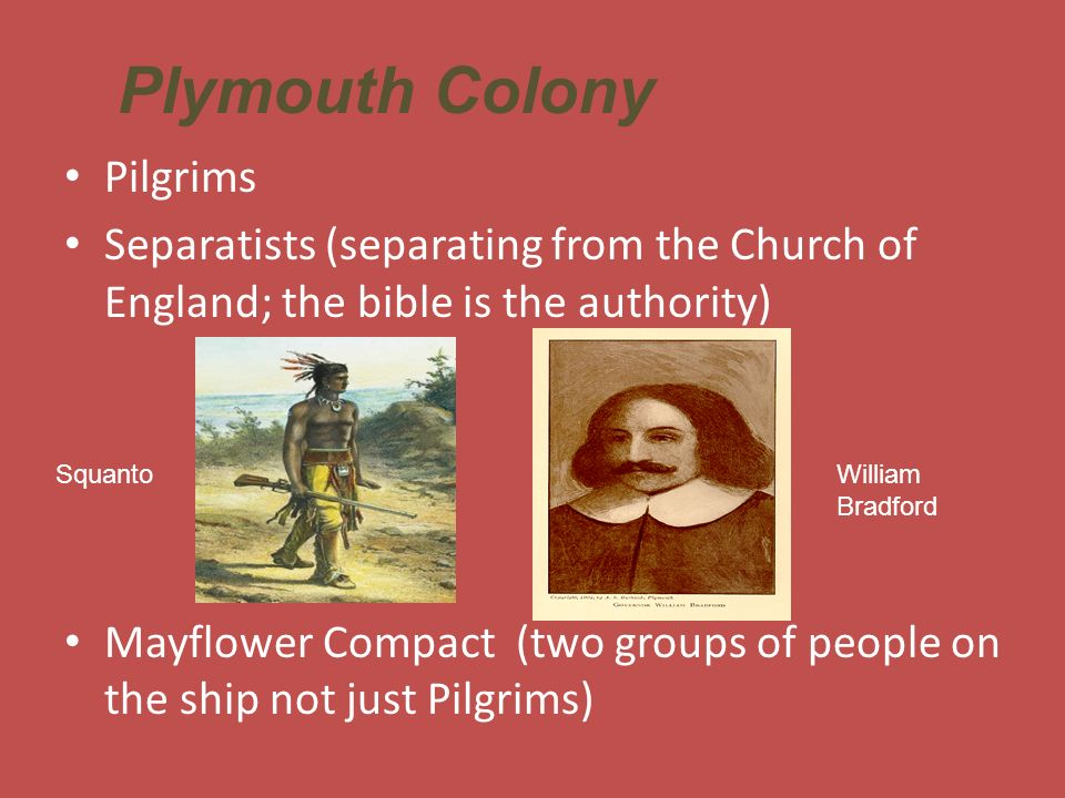 Plymouth Colony Pilgrims