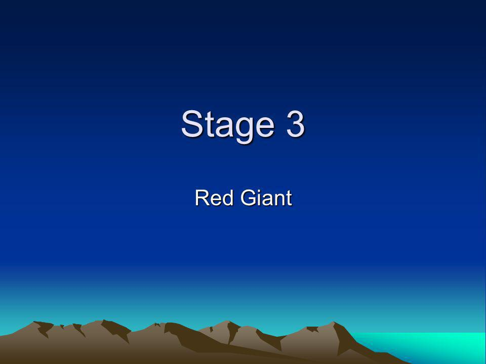 Stage 3 Red Giant