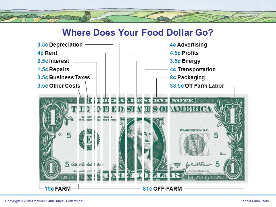 Where Does Your Food Dollar Go