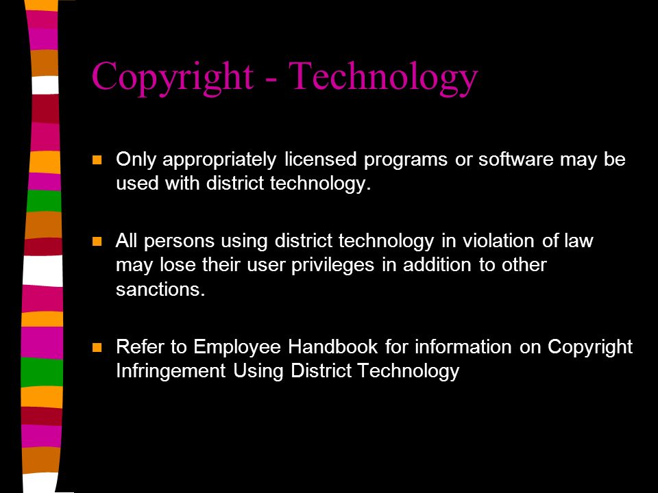 Copyright - Technology