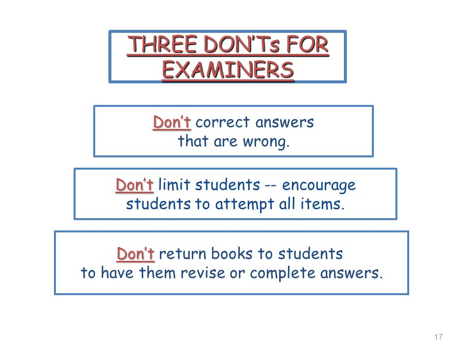 Don't limit students -- encourage students to attempt all items.