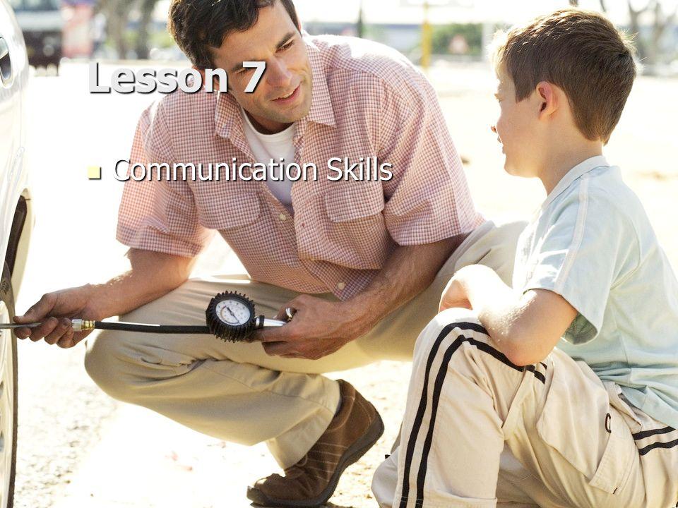 Lesson 7 Communication Skills