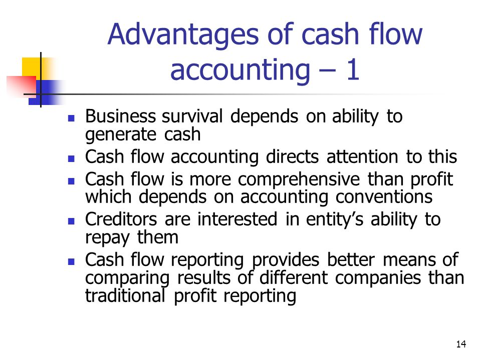 accounting cash flows 2 essay Whay is the difference between two methods of preparing cash flow statement  under the direct method the statement of cash flows  financial accounting.