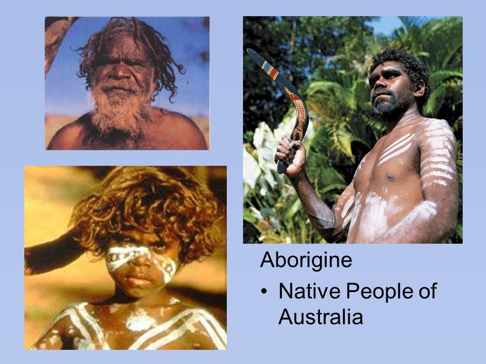 Aborigine Native People of Australia