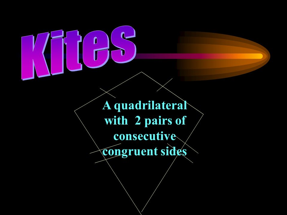 A quadrilateral with 2 pairs of consecutive congruent sides
