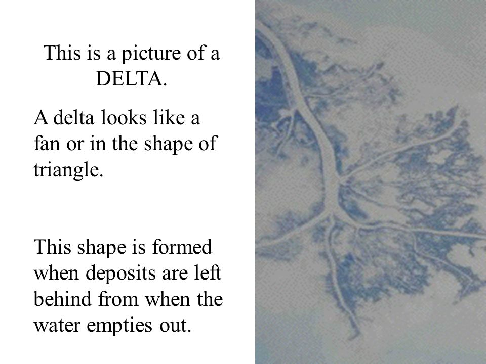 This is a picture of a DELTA.