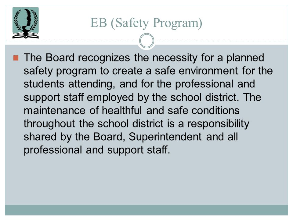 EB (Safety Program)