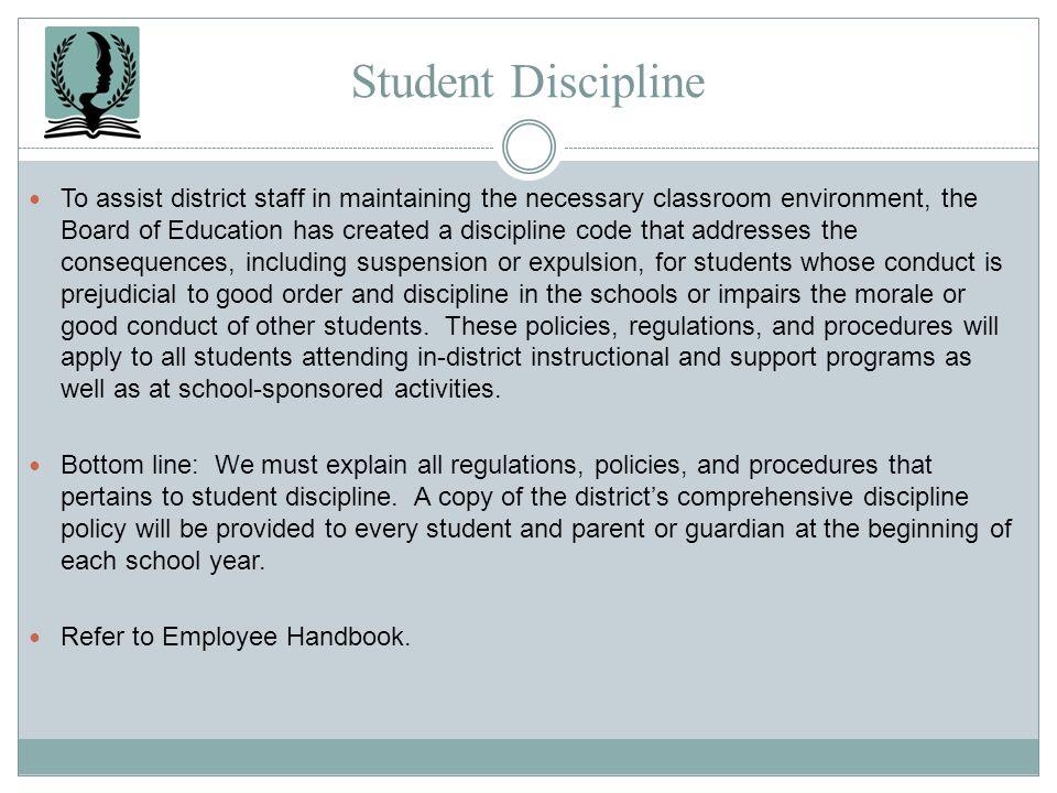 Student Discipline