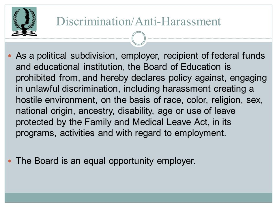 Discrimination/Anti-Harassment