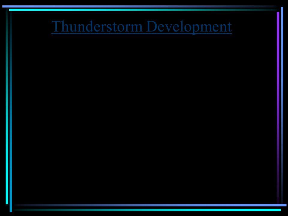 Thunderstorm Development