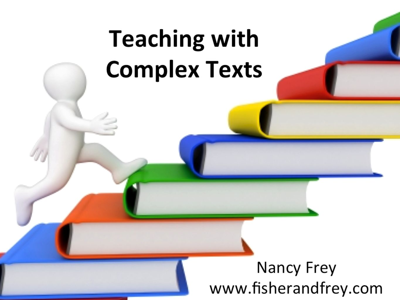 Fisher, Frey, and Lapp have written an excellent book regarding text complexity.