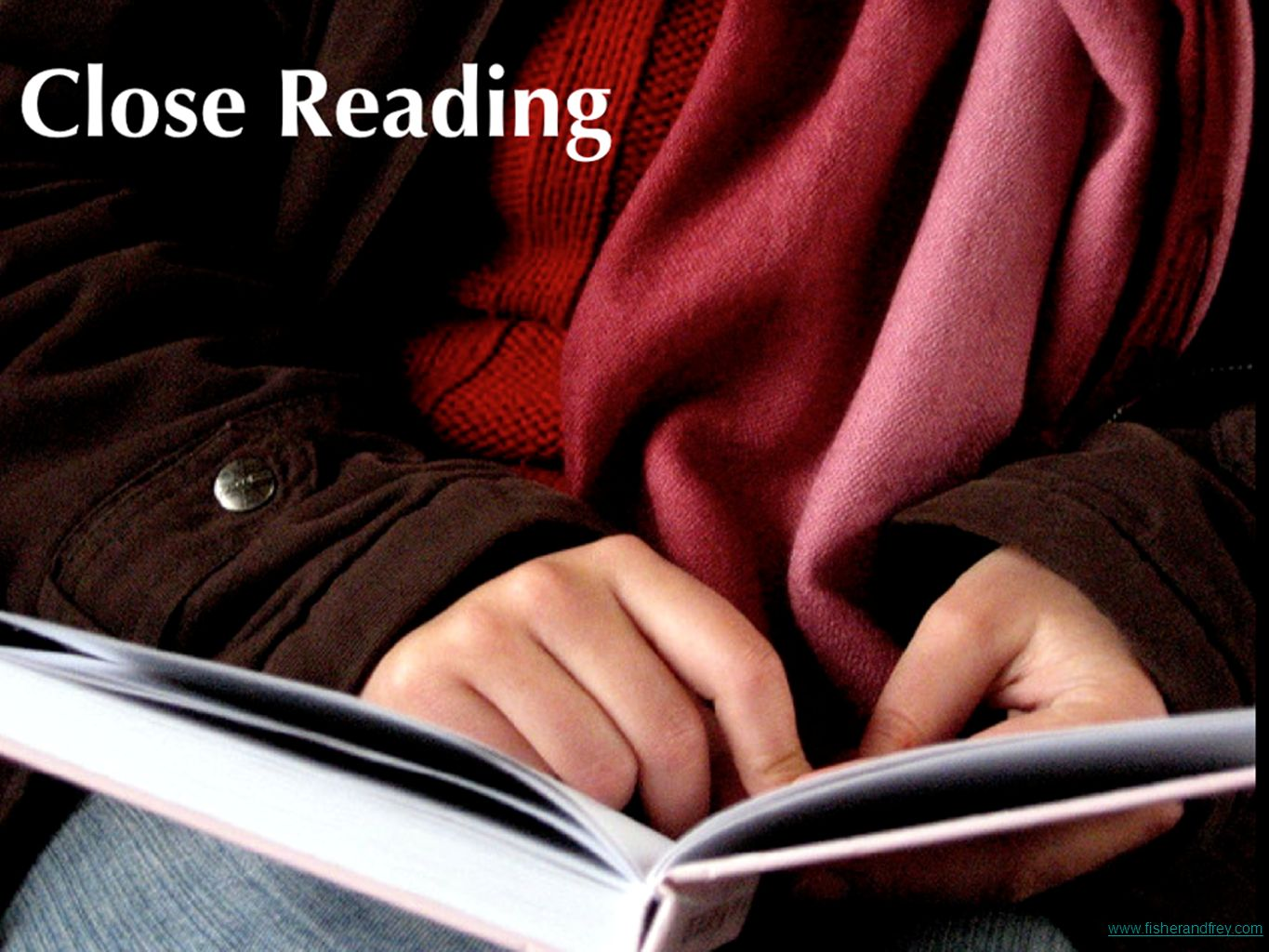 Let's read more about close reading