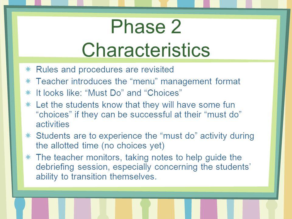 Phase 2 Characteristics
