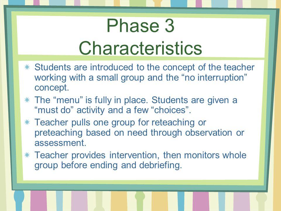 Phase 3 Characteristics