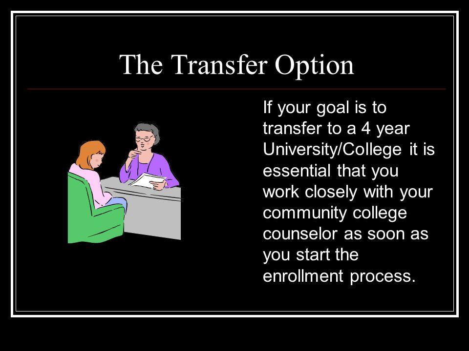 The Transfer Option