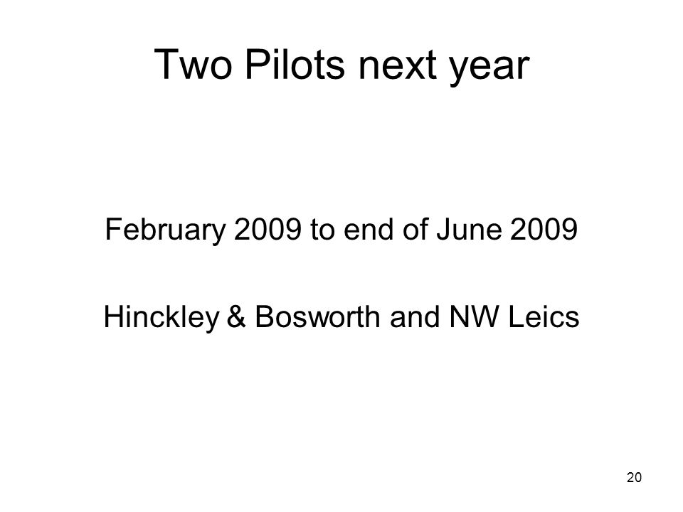 Hinckley & Bosworth and NW Leics