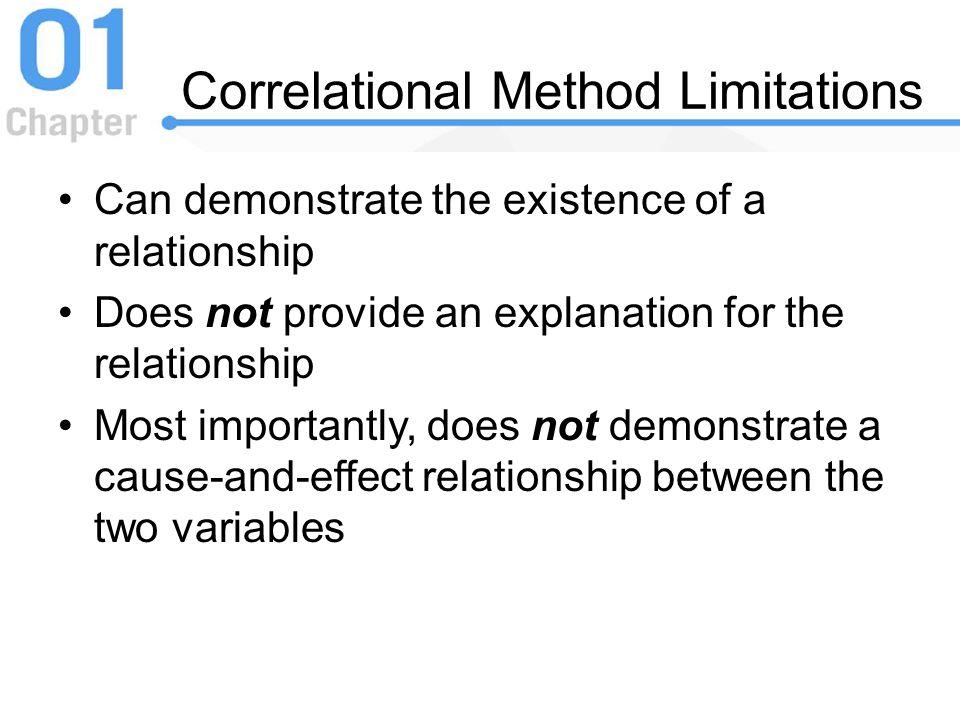 Correlational Method Limitations