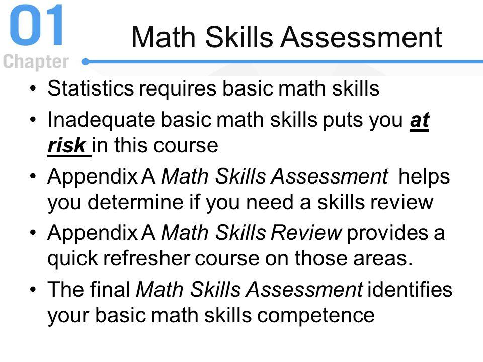 Math Skills Assessment