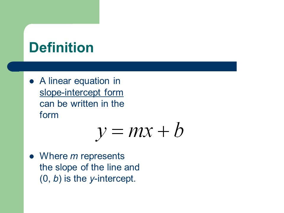 Everything You Will Ever Need To Know About Linear ... Y Intercept Definition