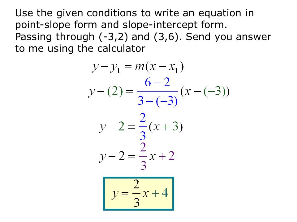 Point Slope Form Of An Equation Jennarocca – Point Slope Form Worksheet