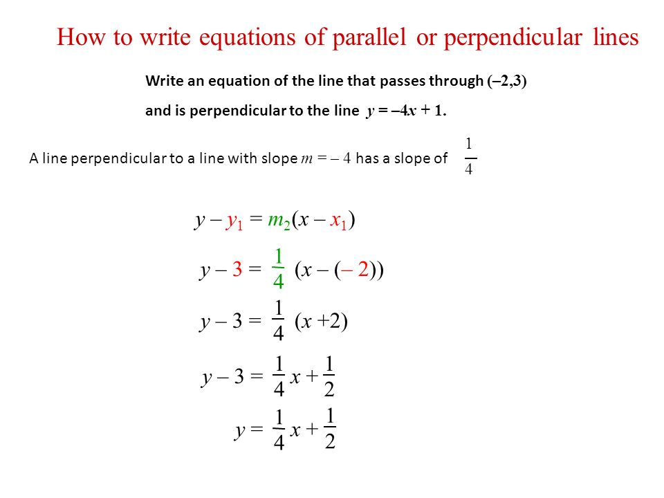 write the equation of a line that passes through (0105) write the equation of a line with a slope of 3 and a y-intercept of 1 (2 points) y = x + 3 y = 3x + 1 3x + y = 1 x + 3y = 1 score: 2 of 2 2 (0105) write the equation of the line that passes through (1, 3) and has a slope of 2 in point-slope form.