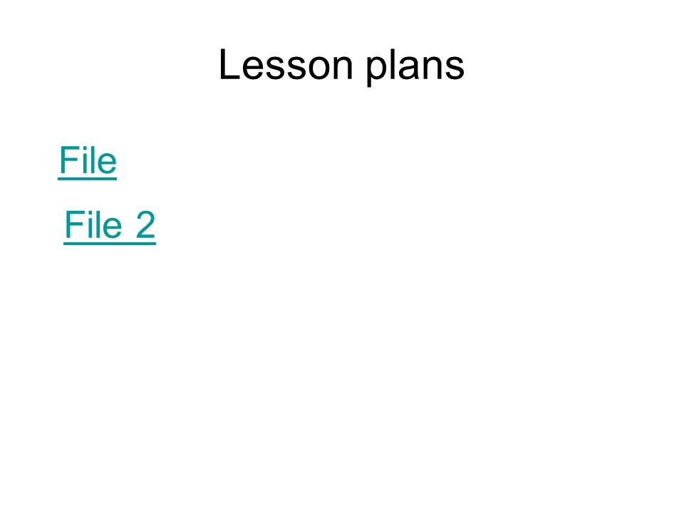powerpoint lesson plans for high school