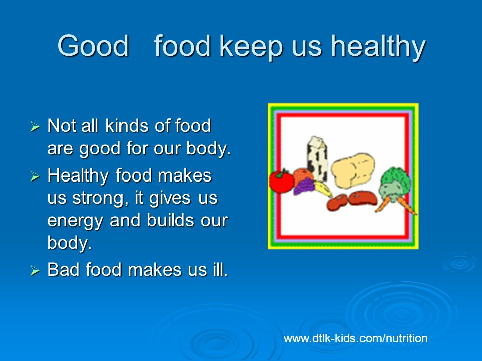 food is good essay