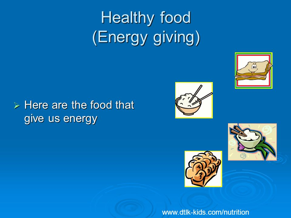 Healthy Food Is Important For A Healthy Body Ppt Download