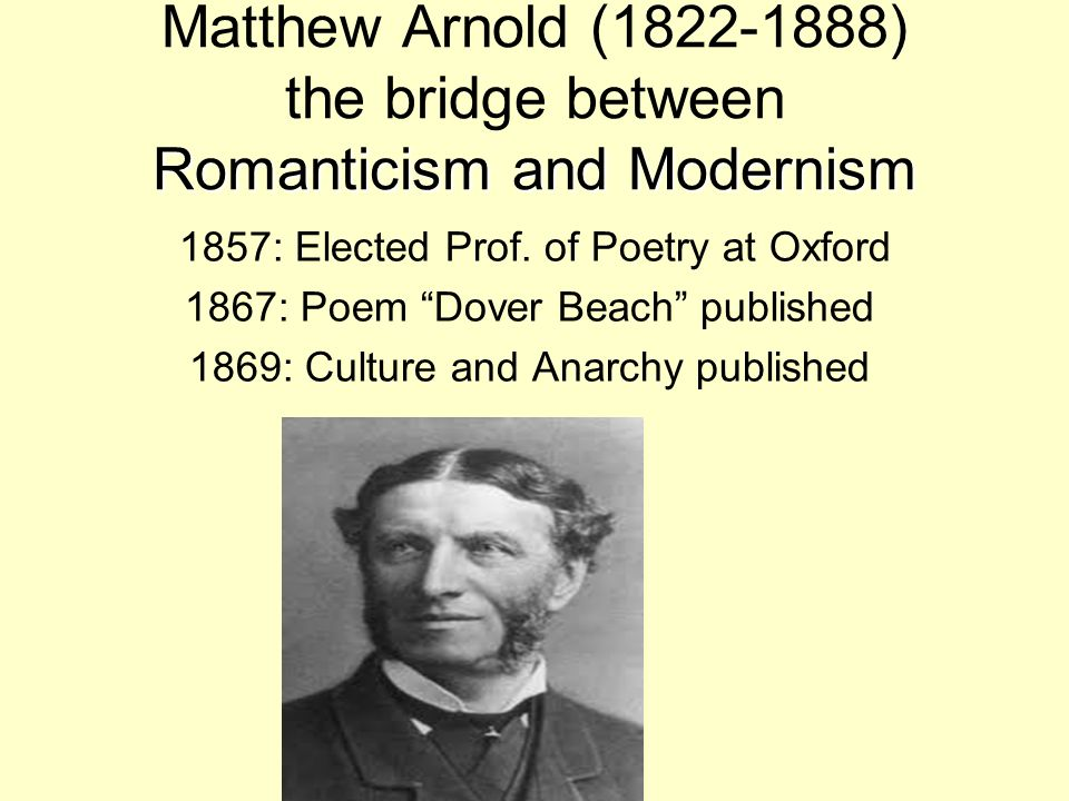 arnold s culture and anarchy We will write a custom essay sample on culture and anarchy by mathew arnold specifically for  that it is not culture's work or aim to give the victory to some.
