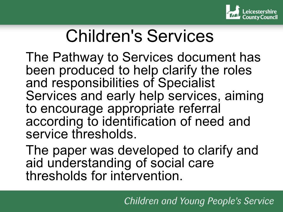 Children s Services