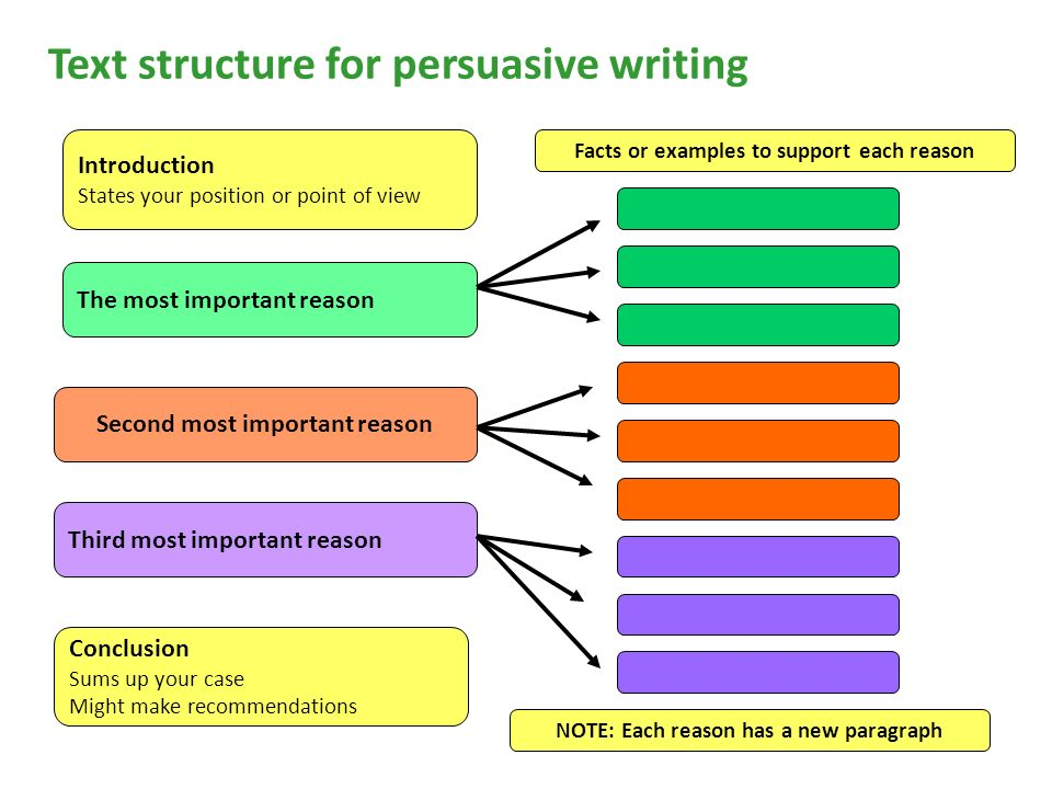 structure of a persuasive essay introduction