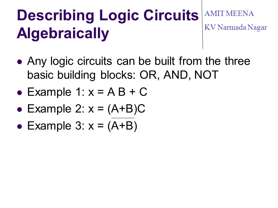 Building Logic Circuits Online