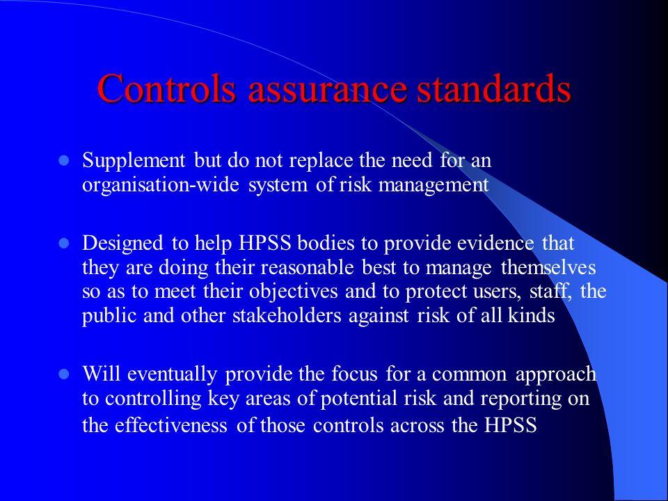 Controls assurance standards