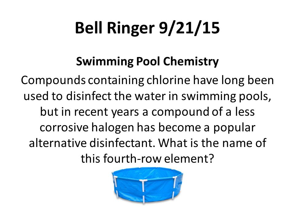 Advanced Chemistry Bell Ringers Semester Ppt Video Online Download
