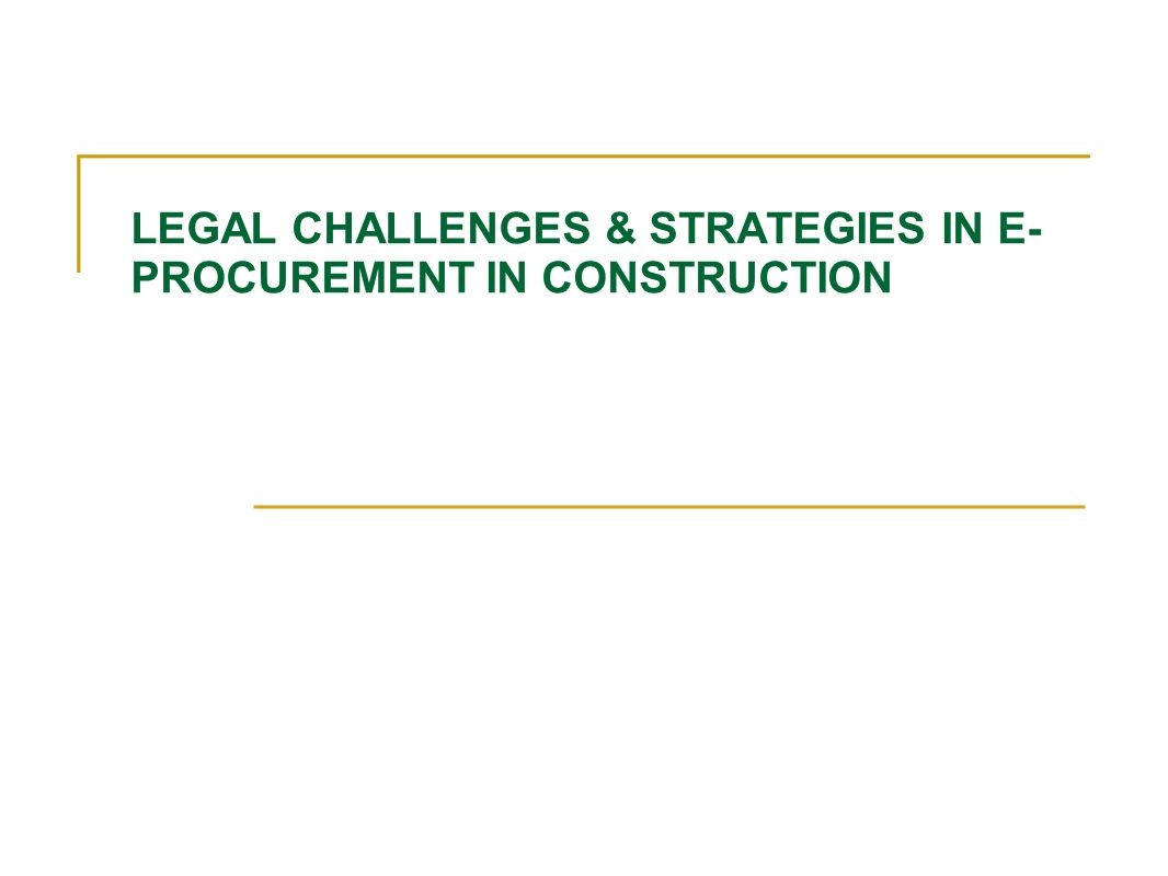 procurement in construction Procurement definition in construction industry delivery of projects on time in the construction industry involves methodical coordination of resources and materials.