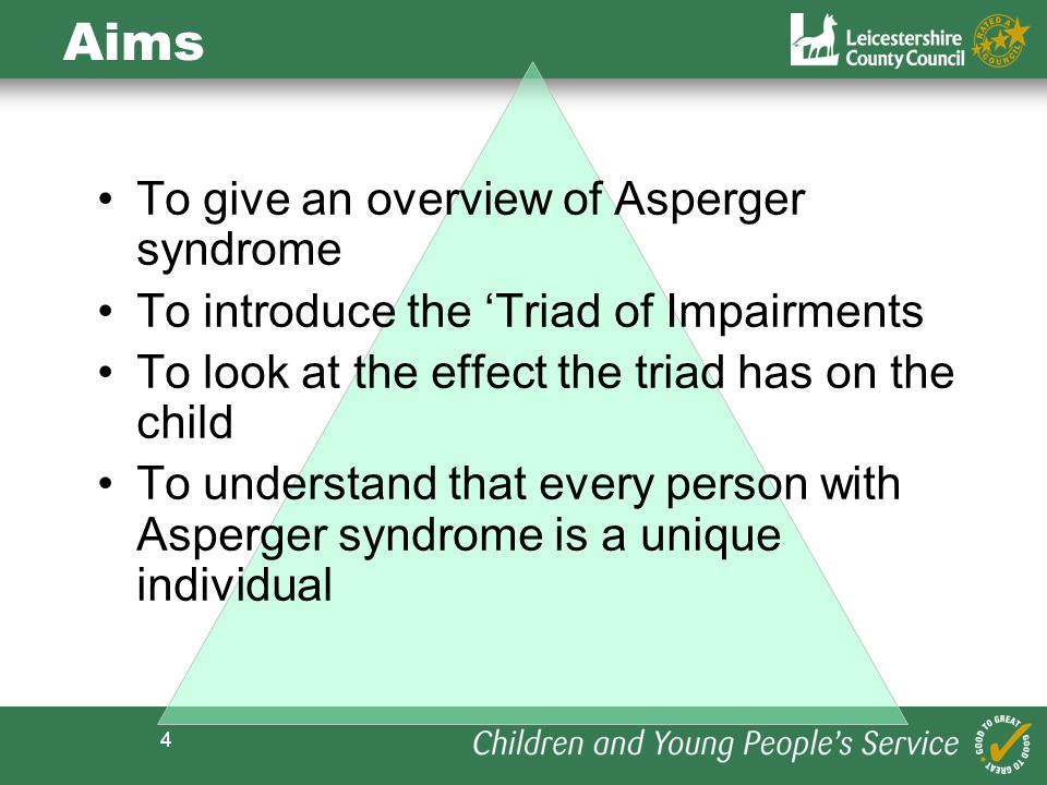 Aims To give an overview of Asperger syndrome