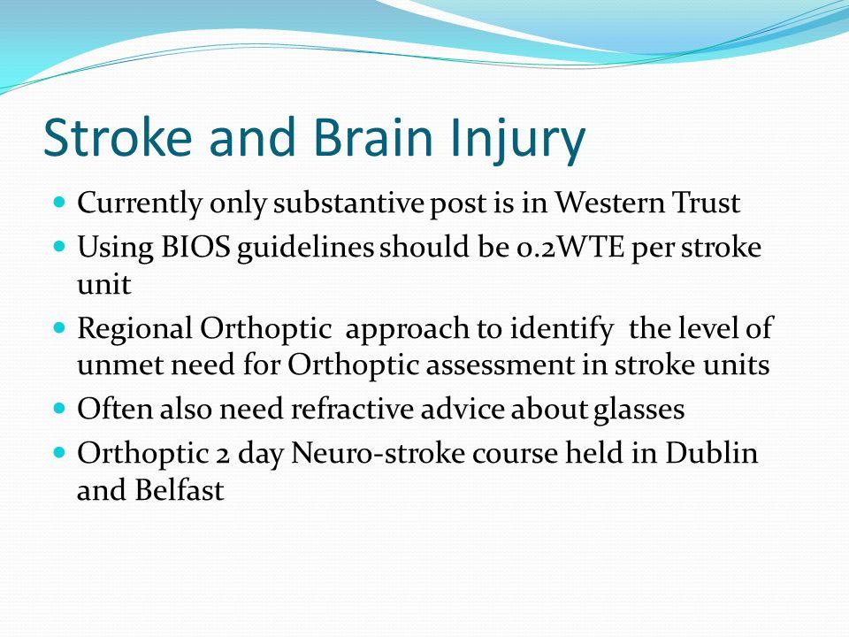 Stroke and Brain Injury