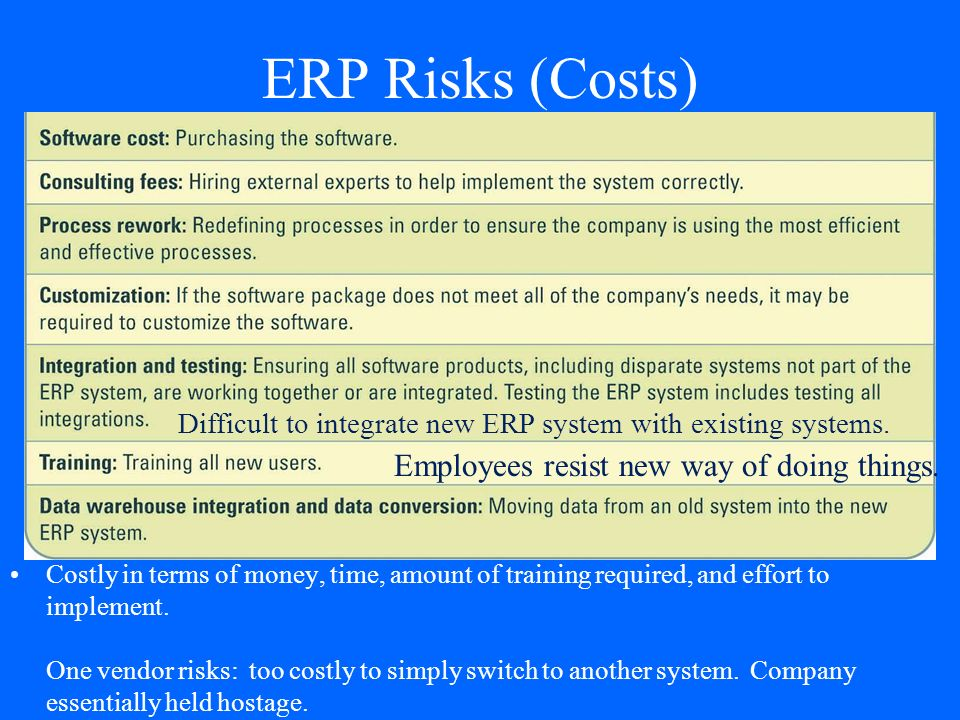 Enterprise Resource Planning Erp Systems Ppt Video