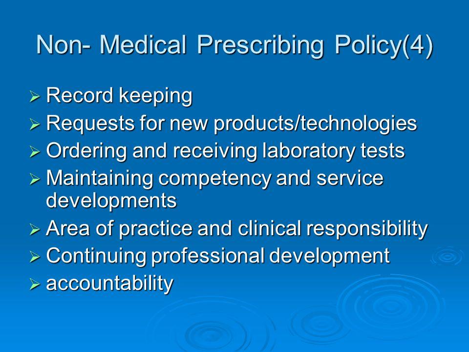 Non- Medical Prescribing Policy(4)