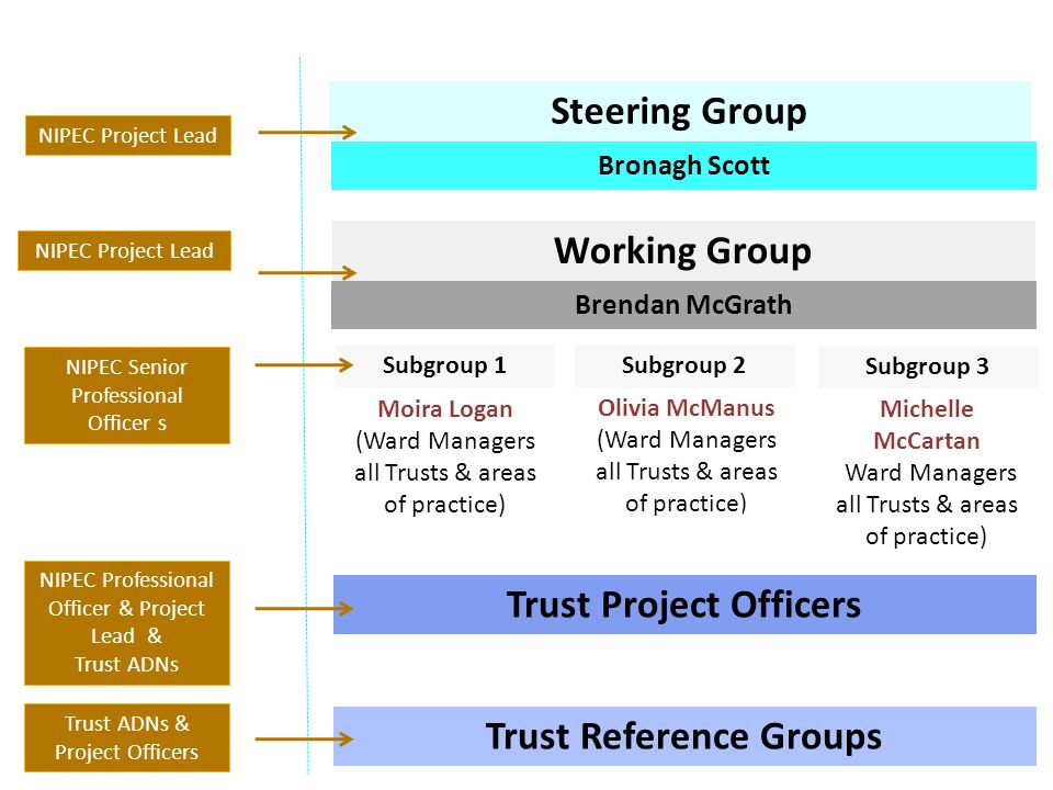Trust Project Officers Trust Reference Groups