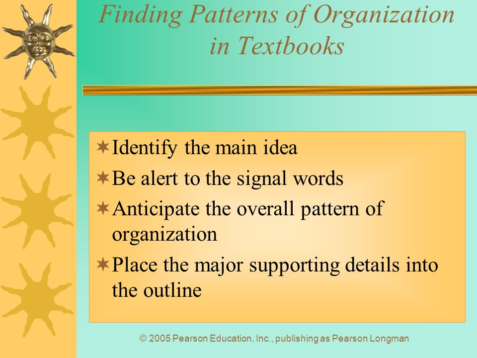 Chapter 5: Patterns of Organization - ppt video online