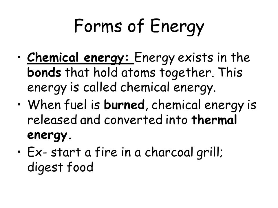 What is energy and what are the different forms? - ppt video ...