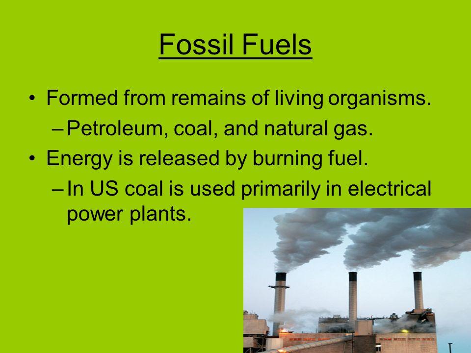 Burning Coal Vs Natural Gas